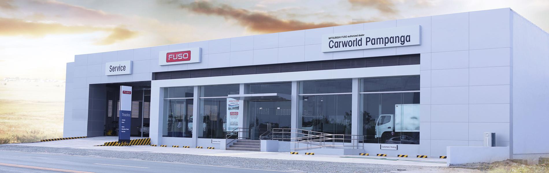 FUSO Carworld Pampanga- Mitsubishi Car Dealer